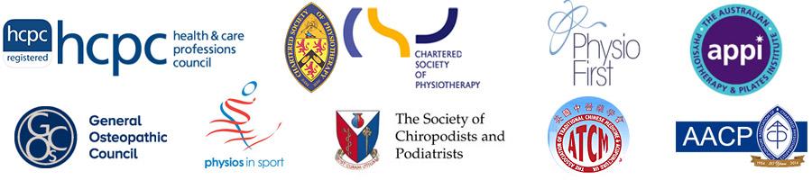 Logos: Registered Organisations